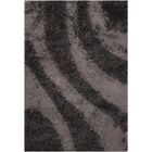 Stockwell Black/Gray Area Rug Rug Size: Rectangle 5' x 7'6