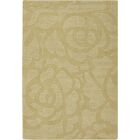 Kevinson Floral Green Area Rug Rug Size: Rectangle 5' x 7'