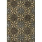 Donegal Brown/Tan Area Rug Rug Size: Round 7'9