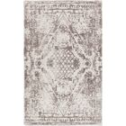 Cristal Hand-Tufted Gray/Charcoal Area Rug Rug Size: 5' x 7'6