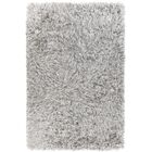 Spellman Hand-Woven White Area Rug Rug Size: 5' x 7'6