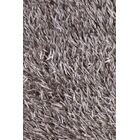 Arden Hand Woven Black/Gray Area Rug Rug Size: Round 7'9