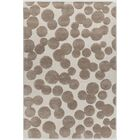 Augustus Hand-Tufted Brown/Beige Area Rug Rug Size: Rectangle 7'9