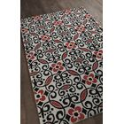 Trace Patterned Contemporary Wool Area Rug Rug Size: 8' x 10'