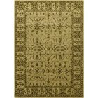 Cayman Green/Beige Area Rug Rug Size: 5' x 7'6