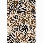 Estella Floral Wool Area Rug Rug Size: 8' x 11'