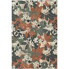 Fitzgerald Orange/Beige Area Rug Rug Size: Rectangle 5' x 7'6