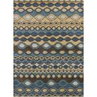 Carol Blue Area Rug Rug Size: 7' x 10'