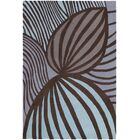 Kelton Cool Brown Area Rug Rug Size: 5' x 7'6