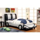 Speedy Racer Car Panel Headboard Size: Full