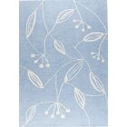 Vanita Blue Area Rug Rug Size: 5'6