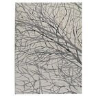 Bunker Lake White Area Rug Rug Size: Rectangle 5'2