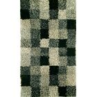 Biloxi Grey Shag Area Rug Rug Size: 8'3
