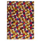 Puzzle Hand-Tufted Area Rug Rug Size: 7'10