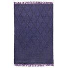 Melia Flat Weave Purple Area Rug Rug Size: 5' x 8'