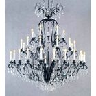 Clemence 41-Light Candle Style Chandelier