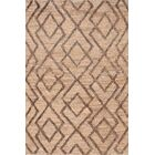 Marco Oak Cut-pile Brown Area Rug Rug Size: Rectangle 2' x 3'