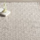 Annabelle Hand-Woven Grey/Ivory Indoor/Outdoor Area Rug Rug Size: Rectangle 8' x 10'
