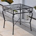 Tropico Iron Patio Side Table
