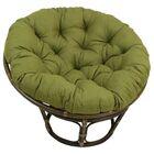 Indoor/Outdoor Papasan Cushion Fabric: Cinnamon