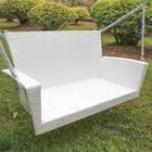 Barnet Porch Swing Finish: White