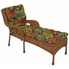 Tropic Indoor/Outdoor Chaise Lounge Cushion
