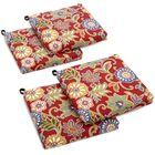 Alenia Indoor/Outdoor Lounge Chair Cushion Fabric: Alenia Pompeii