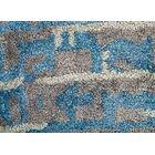 Elisha Hand-Tufted Blue/Taupe Area Rug Rug Size: Rectangle 9' x 12'
