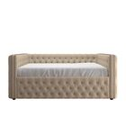 Scribner Daybed with Trundle Color: Beige