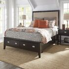Portside Upholstered Storage Platform Bed Size: Full