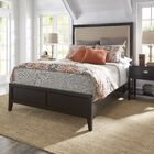 Portside Upholstered Panel Bed Size: Queen