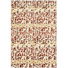 Martha Stewart Abstract Trellis Bard Red Area Rug Rug Size: Rectangle 8' x 10'