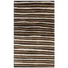 Martha Stewart Tilled Soil Brown Area Rug Rug Size: Rectangle 4' x 6'