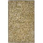 Martha Stewart Oolong Tea Green Area Rug Rug Size: Rectangle 9'6