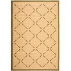 Martha Stewart Cream/Green Area Rug Rug Size: Rectangle 4' x 5'7