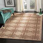 Martha Stewart Tracery Rose/Wood Area Rug Rug Size: Rectangle 5'6
