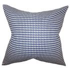 Lviv Cotton Throw Pillow Color: Blue, Size: 24
