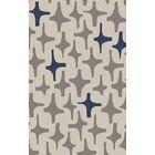 Textila Light Gray Area Rug Rug Size: Rectangle 8' x 11'