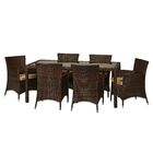 Crotts 7 Piece Dining Set with Cushions