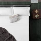 Flannel 4 Piece Sheet Set Size: King, Color: White