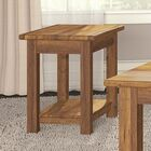 Redonda Chairside Table Color: Honey Wheat