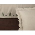 Nelms 145 Thread Count Fitted Bed Skirt Size: King