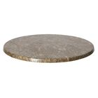 SoHo Table Top Color: Gray Slate, Size: 36