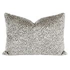 Smoky Velvet Lumbar Pillow (Set of 2)