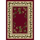 Signature Ivy Valley Brick Area Rug Rug Size: Rectangle 5'4
