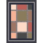 Pastiche Ababa Ebony Rug Rug Size: Square 7'7