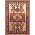 Pastiche Ahvas Brown Rug Rug Size: Oval 5'4