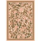 Pastiche Delphi Floral Sand Brown Rug Rug Size: Rectangle 5'4
