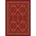 Pastiche Kamil Red Cinnamon Rug Rug Size: Rectangle 5'4