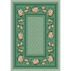 Pastiche Kerri Cool Celery Green Area Rug Rug Size: Rectangle 5'4